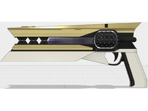 Destiny 2 inspired Sunshot Replica Model