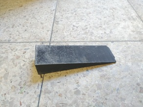 Doorstop with a 3cm height
