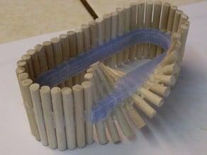 Dowel Mobius Strip