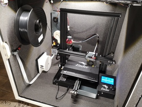 Ender3 silent Octoprint controlled Enclosure / Housing