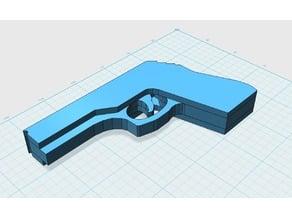 3-shot Step-up-action   Rubber band gun   Pistolet à élastique