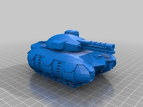 One Part Model of Enzian Experimental Tank