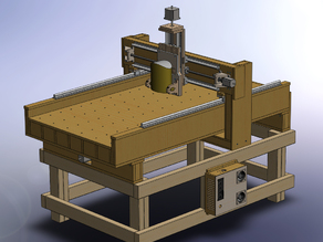 3 axis CNC router MDF ( metric )