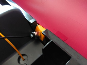 DaVinci Pro external Filament guide for PTFE Tube