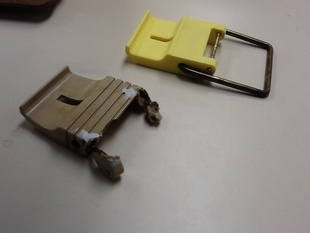 Fishing Tackle box latch