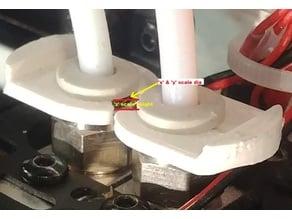 Universal Bowden Tube PTC Clip