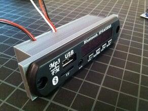 Bluetooth MP3 audio module enclosure box