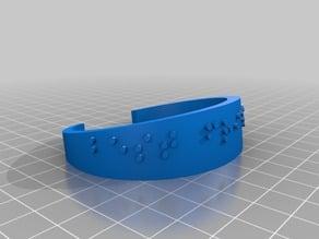MHK braille bracelet