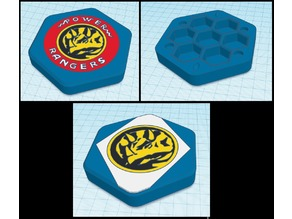 Power Rangers Dice Container - Blue Ranger