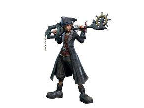 Kingdom Hearts 3 Pirate Sora