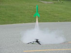 "The ""Proton MK 1"" Model Rocket"