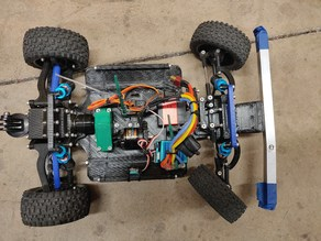 3D printed RC Car V2 (Mid Assembly) [2 of 3]