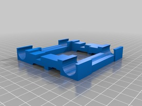 Duplicator 4 Extruder Carriage Mount