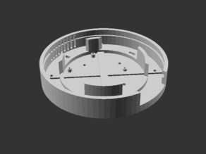 Customizable, round case for Raspberry Pi B+ and 2
