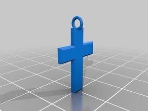 Simple Cross Pendent