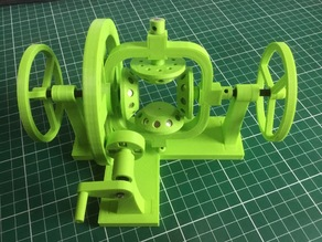 Magnetic differential gear