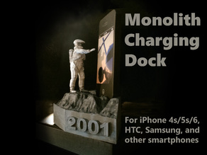 2001 Astronaut and Monolith Phone Charging Dock