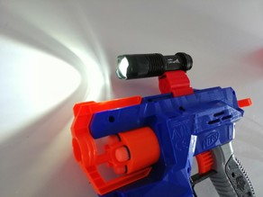NERF Scope with Flashlight mount