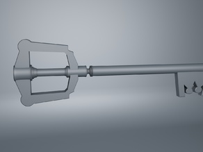 Keyblade, Kingdom Hearts modeling