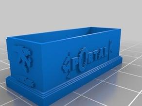 (3D Slash) ApertureBOX Floating text fix