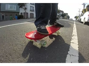 Modjul Skateboard System - Deck, Trucks & Wheels