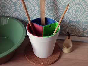 Spatula Holder & Container