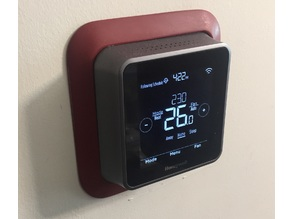 Parametric Wall Holder for Honeywell Lyric T5 Wi-Fi Thermostat