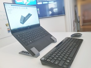 Laptop stand for ultrabooks