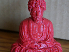 The Sitting Buddha Marcus Aurelius