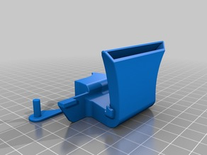 Rear Active Cooling Duct v2 for FlashForge Creator and Makerbot Replicator 1