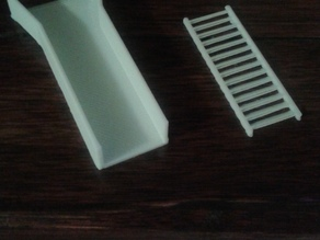3D Printed Sluice Box