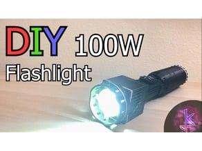 DIY 100W Flashlight