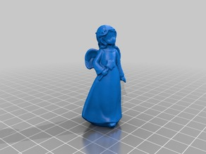 Angel Girl - 3D Scan