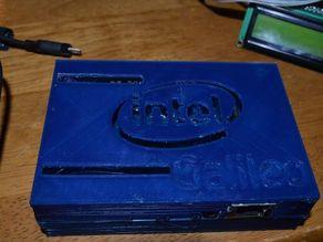 Intel Galileo Enclosure Top with Arduino Expander slots