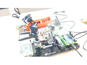 Robot arm with teacher from 3dx