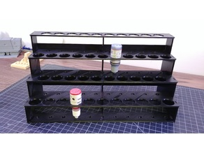 Modular Hobby Paint Rack - Large Straight