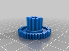 Parametric Concentric Gear (Customizable)