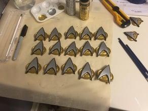 Star Trek: The Next Generation Communicator Badge