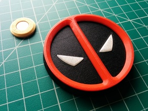 Deadpool Magnetic Symbol