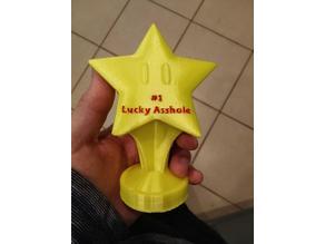 Mario Party Trophy Lucky