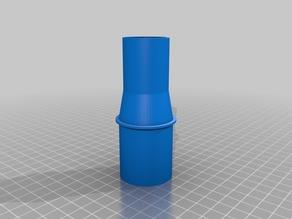 My Customized Vacuum Hose Adapter test 2