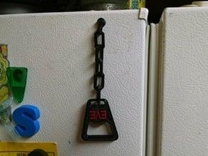 Magnetic Loop for Bottle Opener on Chain