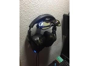 Headset and Eyewear wall mount