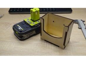 ryobi battery holder lasercut