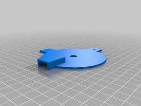 covering for encoder wheel