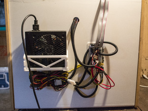 Power and Controller mounting for Makerfarm Prusa i3