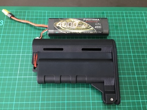 Airsoft M4 AEG - Larger Battery Stock