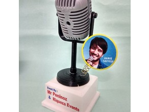 Customised Microphone Momento