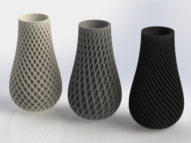 Spiral Vase By Bigbadbison Thingiverse