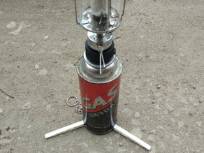 Tourist gas can (220g) holder